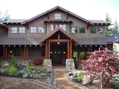 Northwest mountain timber-frame sanctuary near Roslyn